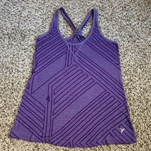 Old Navy purple workout tank top